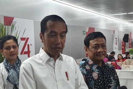 Jokowi Minta Arahkan Cepat Tanggulangi Gempa Banten