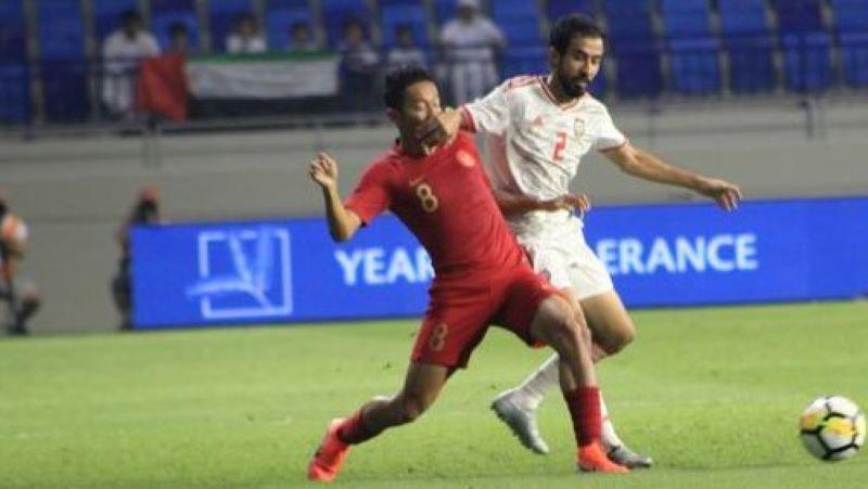UAE Kalahkan Timnas Indonesia, Lima Gol Tanpa Balas