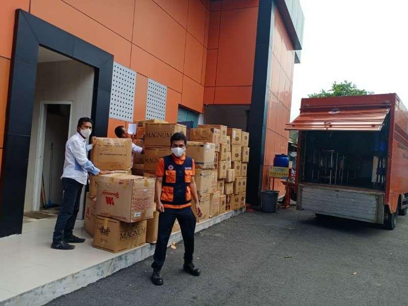Pjs. Bupati Sergai Apresiasi Kembali Terima Bantuan 150 Ribu Masker dari Gubsu