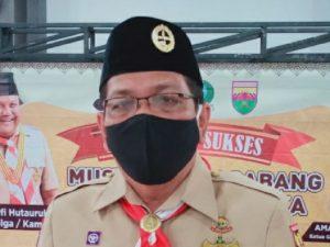 Ketua Kwarcab Pramuka Kota Sibolga Amarullah Gultom, SE.MM periode 2020-2025