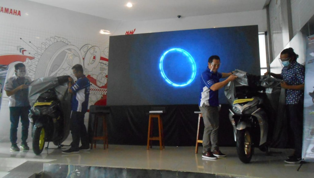 All New Aerox 155 Connected Diluncurkan di Medan