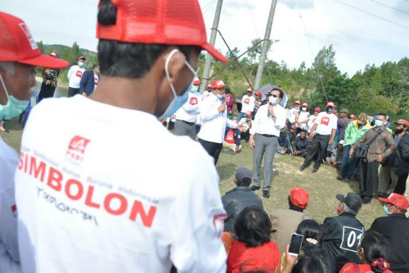 Effendi Simbolon: Pembangunan di Samosir Semakin Maju dan Sejahtera