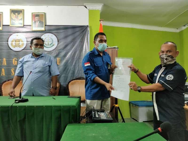 Terima Laporan Dugaan Pelanggaran Pilkada, Ketua Bawaslu Sibolga : Kita Akan Kaji Terlebih Dahulu