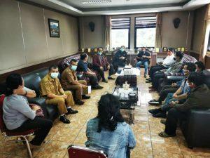 Pendeta GBKP Dan GPdi Audensi Ke Bupati Karo