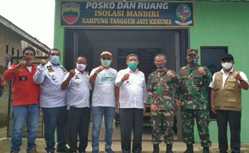 Dandim 0201/BS Resmikan Kampung Tangguh dan Pembangunan MDA Al Jihad Desa Jati Kesuma