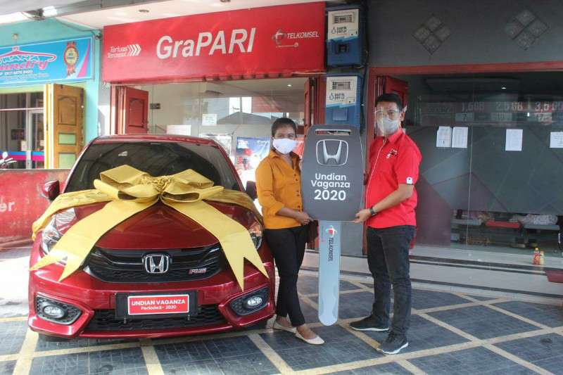 Undian Vaganza, Pelanggan Setia Tekomsel Bawa 1 Unit Mobil