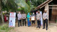 Peringati Hari Bhayangkara, Polres Aceh Utara Salurkan Ratusan Paket Bansos