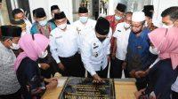 Resmikan Masjid dan Pembangunan Jalan, Bupati Sergai Ajak Masyarakat Untuk Bersyukur