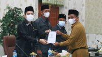 Ranperda Pertanggungjawaban Pelaksanaan APBD TA 2020 Kabupaten Sergai Disetujui DPRD