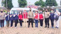 Sambut Hari Bhayangkara Polres Karo Donor Darah