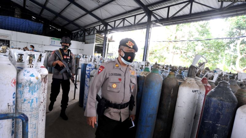 Kelangkaan Oksigen Terjadi di Bali