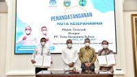 Gubernur Sumut Minta PDAM Tirtanadi Percepat Kejar Target Kebutuhan Air Minum Masyarakat