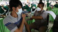 Kodam I/BB; Vaksinasi, Prokes Ketat, dan Testing Masif Menurunkan Penularan COVID-19