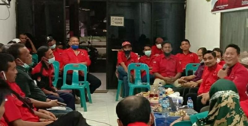 Bulan Bung Karno, PAC PDI Perjuangan Medan Labuhan Diskusi Komunikasi Politik Peradaban