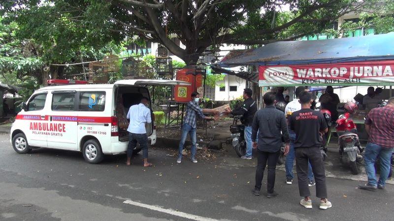 Prananda Salurkan Bantuan ke Wartawan Medan