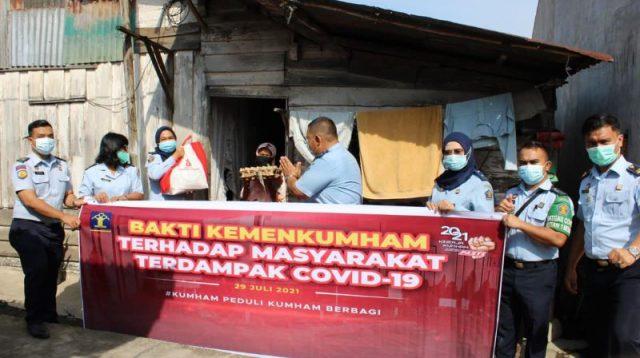 Rutan 1 Medan Berbagi, Berkontribusi Di Tengah Pandemi