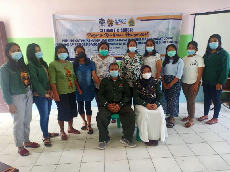 UMSU Berikan Pelatihan Bahasa Inggris Praktis Untuk Warga Pulau Samosir