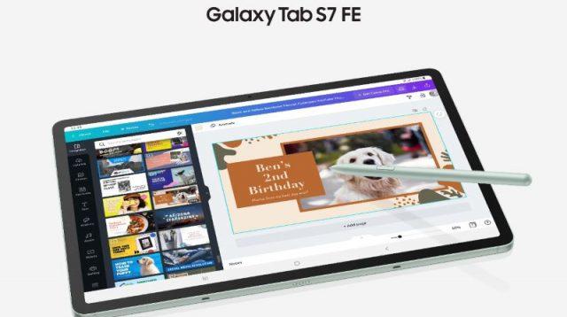 Tetap Kreatif dan Produktif dengan Samsung Galaxy Tab S7 FE 5G