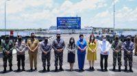 Vaksinasi di Mako Lantamal I Belawan, Gubernur Sumut Sebut Sinergitas Lembaga Sangat Baik di Sumut