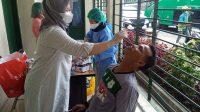 Jelang Tour Pekanbaru, Tim Berjulukam Ayam Kinantan Lakukan Swab Antigen