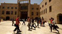 Kairo Memulai Kuliah Tatap Muka, Universitas Amerika Menyambut Mahasiswanya