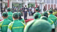 Lepas Kontingen PON XX/2021 Papua, Gubernur Sumut: Kami Selalu Mendukung Kalian
