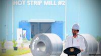 Pabrik Baja Tercanggih ke-2 di Dunia Milik Krakatau Steel Diresmikan Presiden Jokowi