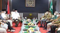 Pesan Prabowo Dibawah Sekjen Gerinda saat Bertemu Ketua PP Muhammadiyah
