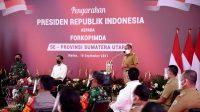 Gubernur Sumut Laporkan Penurunan Kasus Covid-19 Sumut ke Presiden Jokowi