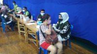 Sebagai 3 Pilar, Polsek Medan Area Laksanakan Vaksinasi Covid-19 Yang Pertama
