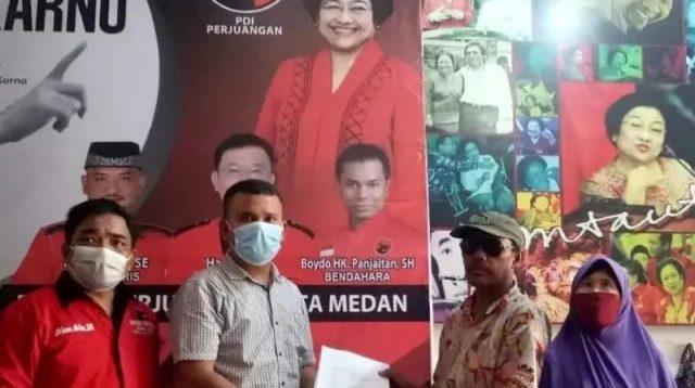 Soal Dana PKH , Zakaria Lapor ke BBHAR PDIP Kota Medan