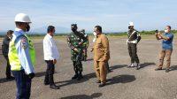 Temui Menteri KP di Bandara, Wabup Fauzi Yusuf Sampaikan Potensi Perikanan Aceh Utara
