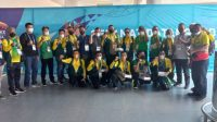 Tim Biliar Sumut Tiba di Mimika, Target 4 Medali Emas