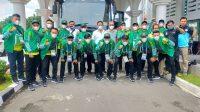 Tim Futsal Sumut Menuju Papua