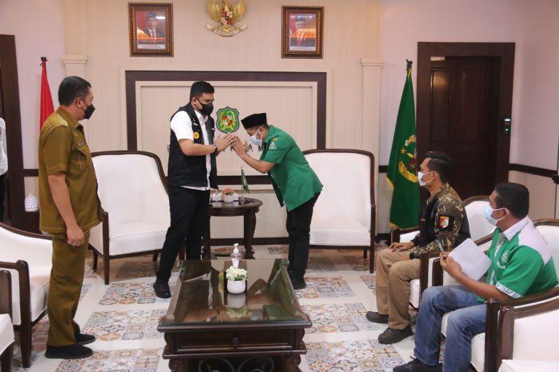 Wali kota Medan Ajak GP Ansor Kota Medan Mendukung Program Masjid Mandiri