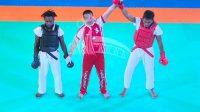 Atlet Tarung Derajat Medan Raih Emas PON Papua