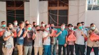Forwakum Sumut Berbagi Sembako Kepada PKL dan Satpam PN Medan