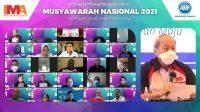 Musyawarah Nasional IMA Tetapkan Suparno Djasmin Sebagai President IMA Periode 2021-2023