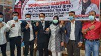 Presiden Partai Indonesia Terang Konsolidasi Ke Sumut