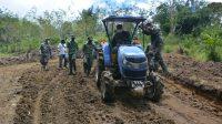 TMMD Ke-112 Kodim 0206/Dairi Akselerasikan Perbaikan Ekonomi Warga Pelosok Desa