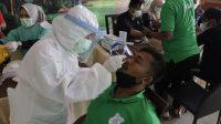Tiba Di Palembang, Pemain dan Official PSMS Langsung Jalani Swab